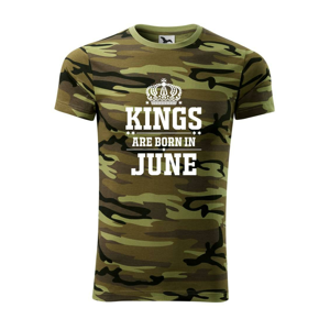 Kings are born in June - Army CAMOUFLAGE