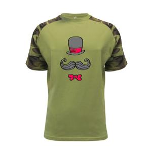 Kitty Mustache - Raglan Military