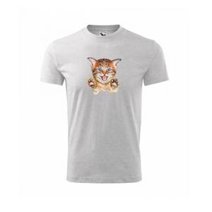 Kočka baf - Triko dětské basic