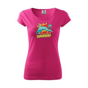 Kočka I am a Superhero - Pure dámské triko