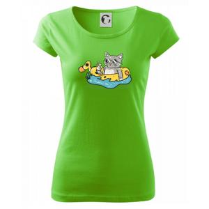 Kočka v kruhu - Pure dámské triko