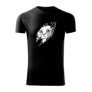 Kočka v roztrženém triku - Viper FIT pánské triko