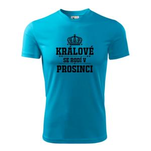 Králové se rodí v prosinci - Pánské triko Fantasy sportovní (dresovina)