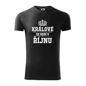 Králové se rodí v řijnu - Replay FIT pánské triko