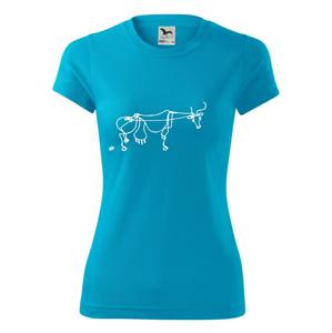Kráva kreslená - Dámské Fantasy sportovní (dresovina)