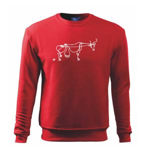 Kráva kreslená - Mikina Essential dětská