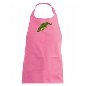 Krokodýl zelený s kačenkou - Zástěra na vaření
