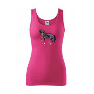 Kůň geometrie barevný - Tílko triumph