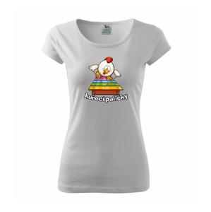 Kuřecí paličky - Pure dámské triko