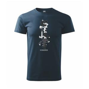 Kyokushin maskáčový nápis - Heavy new - triko pánské