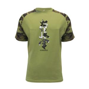 Kyokushin maskáčový nápis - Raglan Military