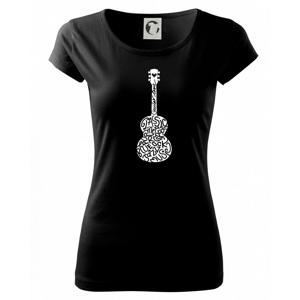 Kytara - názvy hudebních stylů - Pure dámské triko