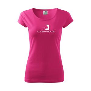 Labrador logo - Pure dámské triko