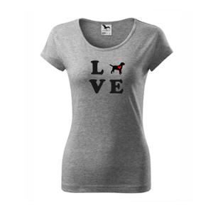 Labrador love - Pure dámské triko