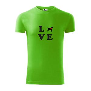 Labrador love - Viper FIT pánské triko