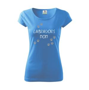 Labradors mom (Labradorský retrívr) (Reflexní tlapky) - Pure dámské triko
