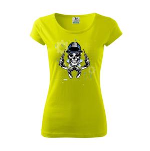 Lebka domácí kutil - Pure dámské triko