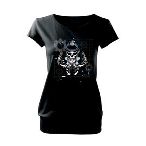 Lebka domácí kutil - Volné triko city