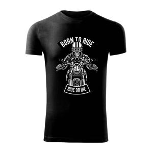 Lebka ride or die - Replay FIT pánské triko