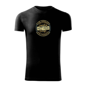 Legendary hot rod garage - Replay FIT pánské triko