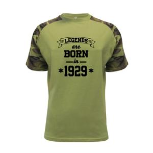 Legends are born in 1929 - Raglan Military