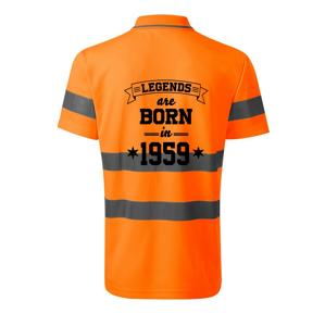 Legends are born in 1959 - HV Runway 2V9 - Reflexní polokošile
