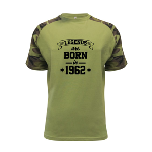 Legends are born in 1962 - Raglan Military