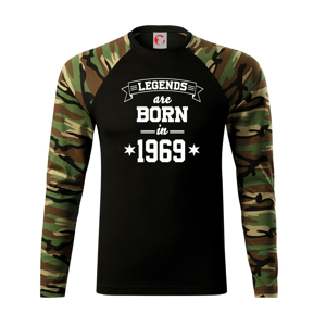 Legends are born in 1969 - Camouflage LS