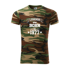 Legends are born in 1977 - Army CAMOUFLAGE