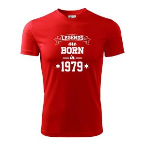Legends are born in 1979 - Pánské triko Fantasy sportovní (dresovina)