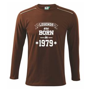 Legends are born in 1979 - Triko s dlouhým rukávem Long Sleeve