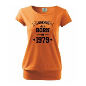 Legends are born in 1979 - Volné triko city