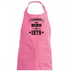 Legends are born in 1979 - Zástěra na vaření