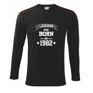Legends are born in 1982 - Triko s dlouhým rukávem Long Sleeve