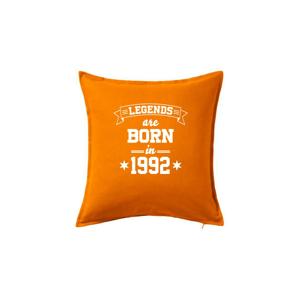 Legends are born in 1992 - Polštář 50x50