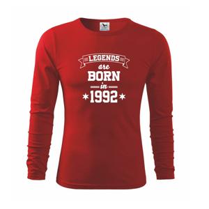 Legends are born in 1992 - Triko s dlouhým rukávem FIT-T long sleeve