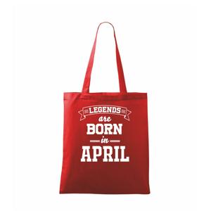 Legends are born in April - Taška malá