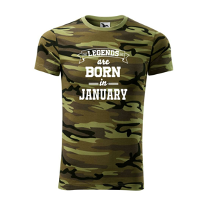 Legends are born in January - Army CAMOUFLAGE