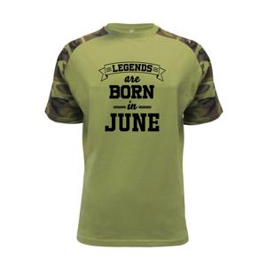 Legends are born in June - Raglan Military