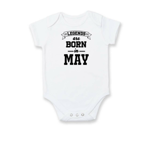 Legends are born in May - Body kojenecké