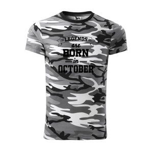 Legends are born in October - Army CAMOUFLAGE
