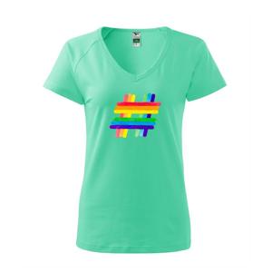 LGBT hashtag - Tričko dámské Dream