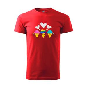 LGBT zmrzliny - Heavy new - triko pánské