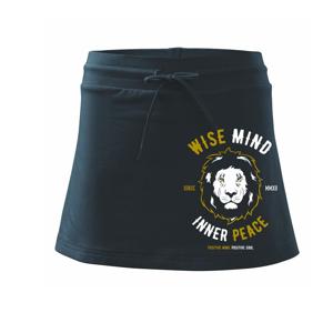 Lion wise - Sportovní sukně - two in one