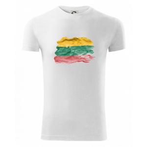 Litva vlajka rozpitá - Viper FIT pánské triko
