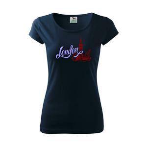 London Lettering - Pure dámské triko