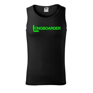 Longboarder nápis - Tílko pánské Core