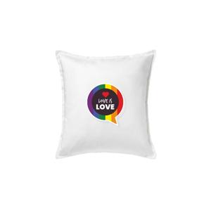 Love is love bublina - Polštář 50x50