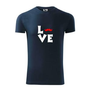 Love mustache - Replay FIT pánské triko