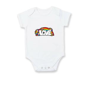 Love s duhou v pozadí - Body kojenecké
